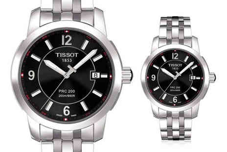 Best Watch Company - Luxury Swiss Made Tissot PRC200 mens watch - Save 58%