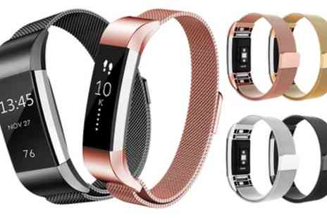 Groupon Goods Global GmbH - Replacement Strap Compatible with Fitbit Alta or Fitbit Charge 2 - Save 53%