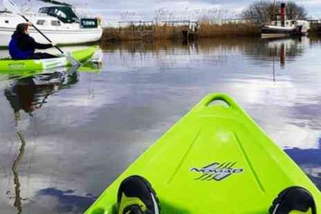Jurassic Watersports - 90 Minute Kayaking Taster Session for Up to Four - Save 0%
