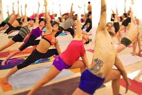 Bikram Yoga London - Ten Sessions of Hot Yoga - Save 75%