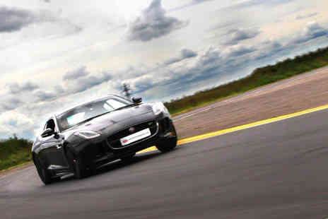 Supercar Test Drives - Three lap Jaguar F-TYPE R driving experience - Save 77%