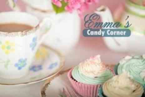 Emma's Candy Corner - Cupcake Decorating Class For One (£21) or Two (£39) With Afternoon Tea at Emma's Candy Corner (Up to 68% Off) - Save 68%