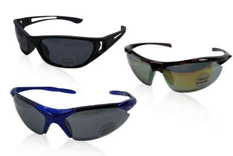 Best Tablet Company - Pair of sports sunglasses - Save 73%