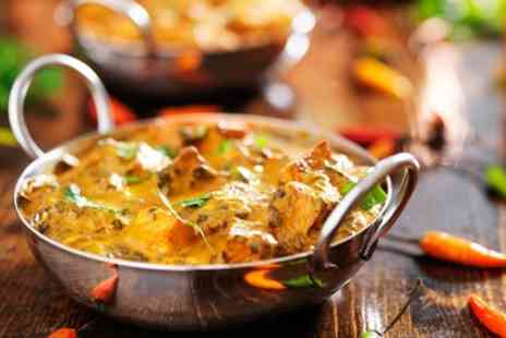 India the restaurant - Indian Meal With Rice for Two or Four - Save 46%