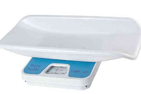 Buy Something - Digital Weighing Scales for Babies or Pets - Save 50%