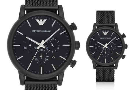 Best Watch Company - Emporio Armani AR1968 chronograph watch - Save 60%