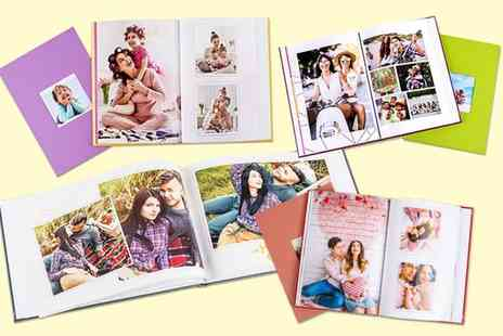 Colorland - Landscape or portrait 160 page personalised A4 photobook - Save 75%