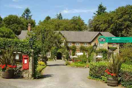 The Edgemoor - Overnight Dartmoor, Devon getaway for two people with cream tea, glass of Prosecco, breakfast and late check out - Save 53%