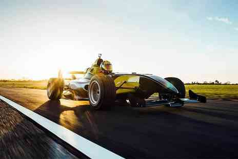 Drift Limits - 14 Lap Formula F1000 driving experience - Save 50%