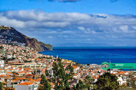 Via Holiday - Four Star Seven nights Madeira spa break with flights and breakfast - Save 28%