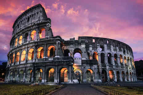 Weekender Breaks - Four nights Italian escape to Rome and Florence, including breakfast flights and trains - Save 37%