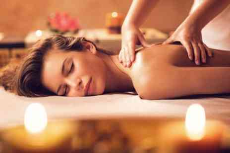 Boudoir Hair And Beauty - 30 Minute Oil Back Massage or 60 Minute Full Body Massage - Save 35%
