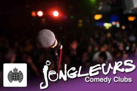 Jongleurs Comedy Club - Comedy Night With Burger and Entry to Ministry of Sound - Save 61%