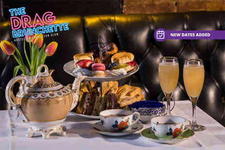 Zebrano - The Drag Brunchette hosted by Vanity Von Glow afternoon tea with bottomless bellinis - Save 51%