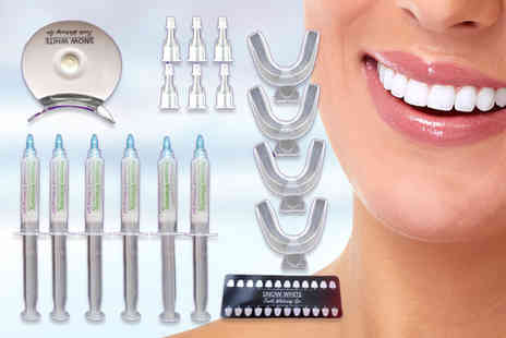 Ivory Smiles - 30ml non peroxide teeth whitening kit - Save 35%