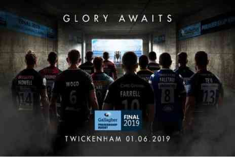 Gallagher Premiership Rugby Final 2019 - Two category three tickets to see The Gallagher Premiership Rugby Final 2019 on 1 June - Save 52%