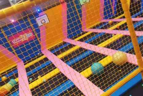 Tramp 2 Lean - One Hour Trampoline Bounce Session for Up to Four - Save 31%