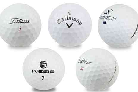 Groupon Goods Global GmbH - 50 Recycled Golf Balls from Pro V1X, Tilteist, Callaway, Inesis, Wilson - Save 0%
