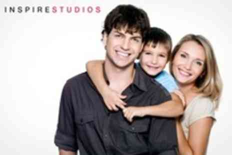 Inspire Studios - Baby, Toddler, or Family Photo Shoot With Print - Save 89%