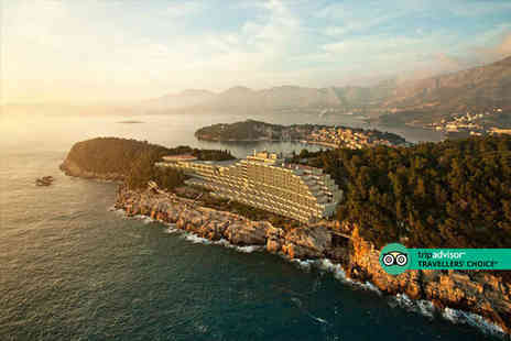 Bargain Late Holidays - Five Star Three nights half board Cavtat, Croatia break with flights - Save 36%