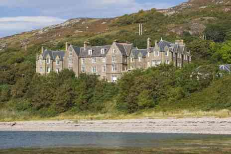 The Gairloch Hotel - Overnight stay for two people with breakfast, three course dining, a bottle of wine on arrival and late check out - Save 58%