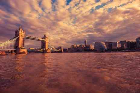 London Party Boats - Mothers Day afternoon tea Thames Cruise with a glass of Prosecco each for two people - Save 38%