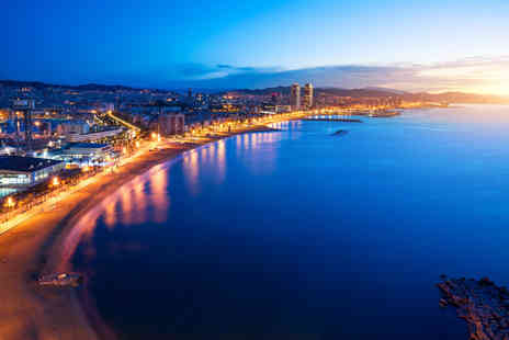 Bargain Late Holidays - Four Star Escape with a two, three or four nights getaway to Barcelona Now with the ability to choose your flight - Save 0%
