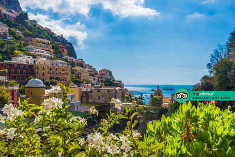 Bargain Late Holidays - Escape with a three, four, five or seven nights half board Ischia, Italy getaway Now with the ability to choose your flight - Save 0%