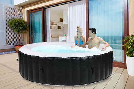 Eden Spa - Inflatable hot tub choose from three sizes - Save 26%