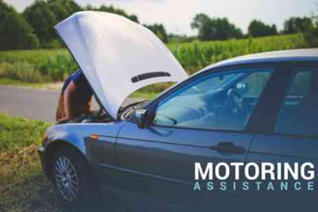 Motoring Assistance - One Year Saver or Premium UK Breakdown Cover for Car of Any Age - Save 40%