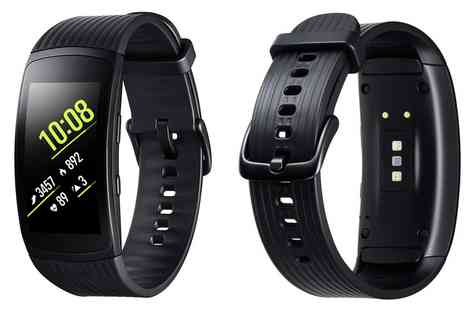 Groupon Goods Global GmbH - Samsung Gear Fit 2 Pro With Free Delivery - Save 0%