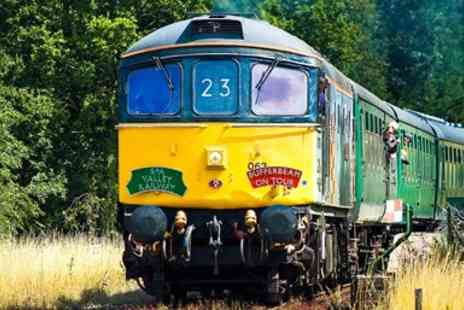 Spa Valley Railway - A 2 person ticket for a return scenic railway trip for 2 - Save 50%