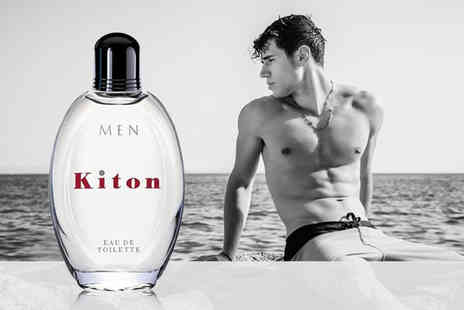 Deals Direct - 75ml bottle of Kiton mens eau de toilette - Save 48%