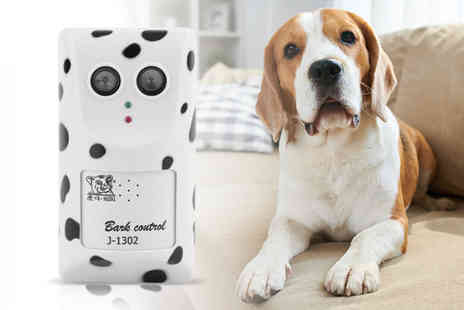Wow What Who - Electronic ultrasonic anti bark device - Save 70%