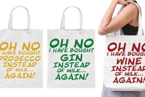 Groupon Goods Global GmbH - One, Two or Three Oh No I Have Bought Tote Bags - Save 0%