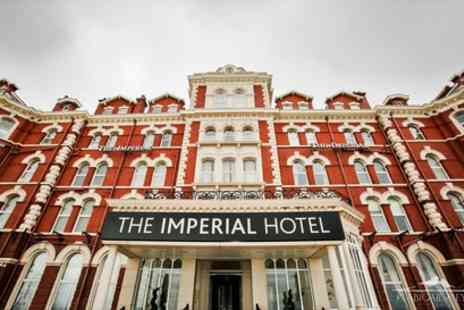 Imperial Hotel - Standard Double Room for Two with Breakfast and Optional Dinner and Afternoon Tea - Save 0%