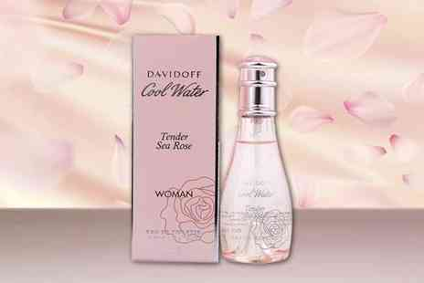 Deals Direct - 50ml Davidoff tender sea rose eau de toilette - Save 13%