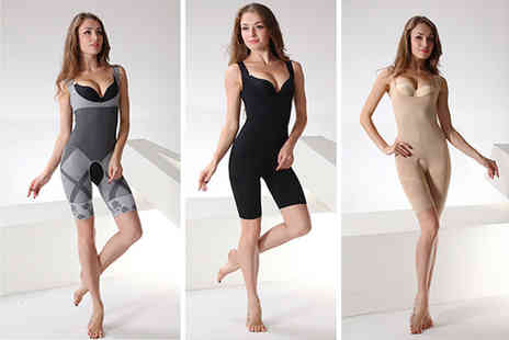 Bellap - Bamboo one piece shaper choose from three colours - Save 80%