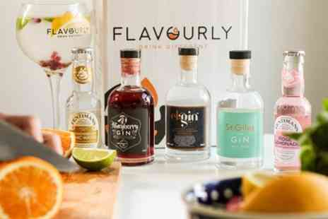 Flavourly - One Month Craft Gin Discovery Club and Flexible Subscription Including Delivery - Save 26%