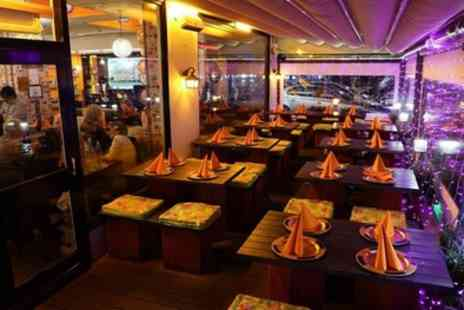 Aamchi Mumbai - Two Course Low Calorie Indian Sizzler Meal with Beer for Up to Four - Save 38%