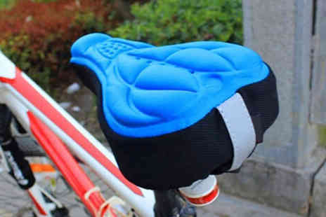 hey4beauty - 3D bike seat cover choose from four colours - Save 75%