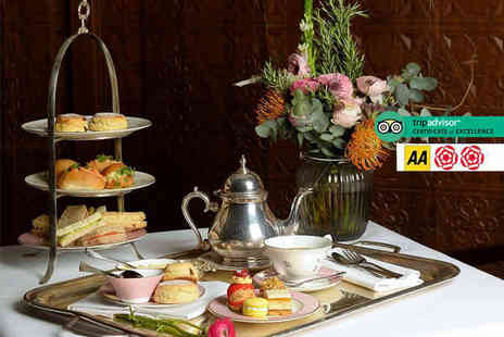Guoman Hotels - Afternoon tea for two with a glass of Champagne each - Save 50%