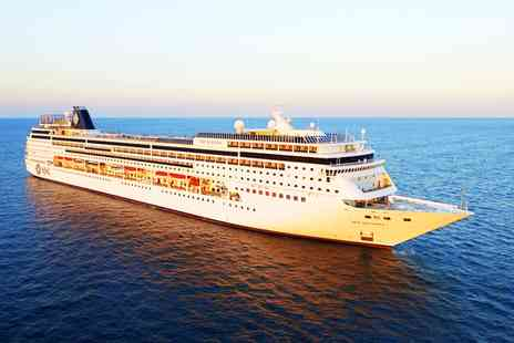 MSC Mediterranean Cruise - Four Star Italian Twin City Stay and Choice of Three Cruises - Save 0%