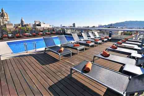 Hotel Jazz - Three Star Chic City Escape off Las Ramblas for two - Save 74%