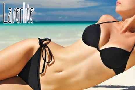 Laserlite Clinic - Brazilian or Hollywood hot wax - Save 84%
