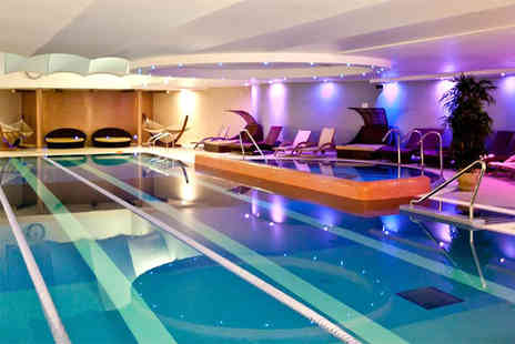 Bannatyne Spa - Deluxe spa package for two with three treatments each, facility access and a £5 voucher each - Save 57%