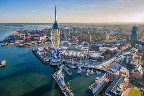 Emirates Spinnaker Tower - The Drop experience and tower entry - Save 30%