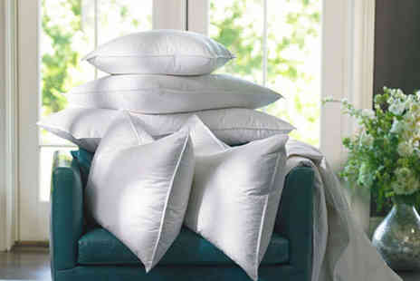 Direct Warehouse - Pack of four goose feather and down pillows - Save 80%