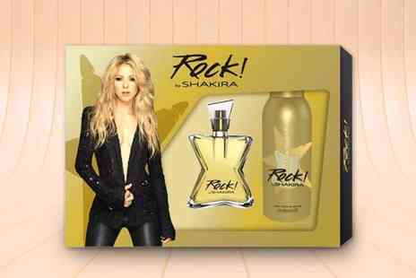 Deals Direct - Shakira Rock or Shakira Elixir gift set with deodorant spray - Save 50%
