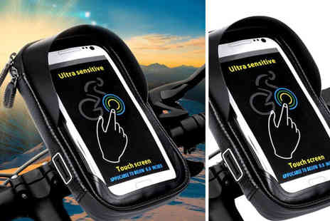 hey4beauty - Clip on waterproof bicycle phone bag - Save 65%